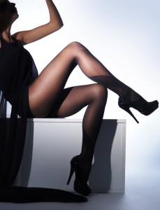 Beautiful legs in nice pantyhose